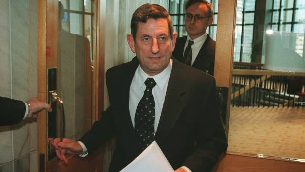 Then Finance Minister Bill Birch arrives at Parliament to brief journalists on his Budget of 1999, his last year in ...
