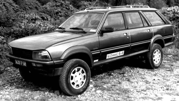 Move over Subaru Outback: legendary Peugeot 505 Break became even more legendary in SUV guise.