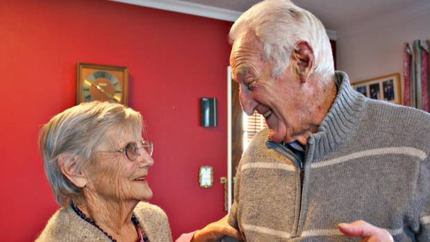 Dance partners Ron and Shirley Bowie are looking forward to the Tea Dance organised by Age Concern Marlborough.