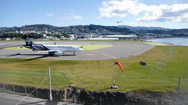 Wellington Airport needs more space to park more planes.