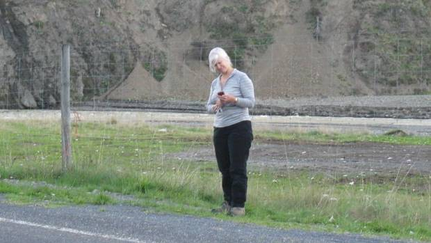 Inland Rd resident Sue Turnbull, one of a group of residents pushing for mobile coverage.