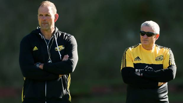 The coaching partnership between John Plumtree, left, and Chris Boyd dates back to 2003.