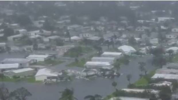 Hurricane Irma packing winds up to 250 km/h as it approaches Florida