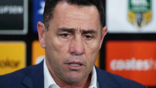 Sharks coach Shane Flanagan launched a tirade on the referees after his side were knocked out of the NRL finals.
