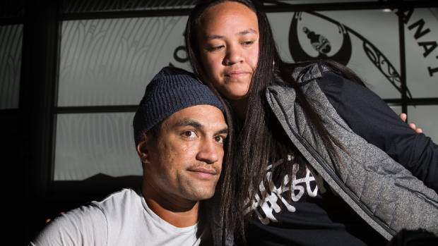 He Waka Tapu youth suicide prevention worker  Zion Tauamiti visits Aranui's Haeata Community Campus to check in on the ...