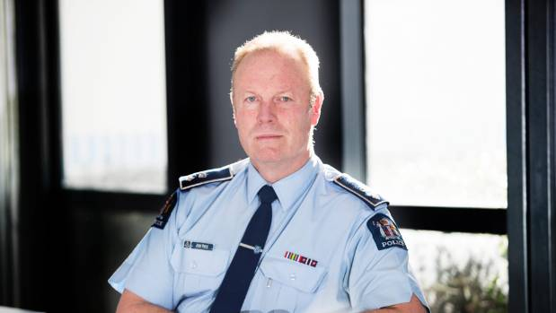 Canterbury District Commander John Price says he has seen an increase in domestic violence and addiction issues post-quakes.