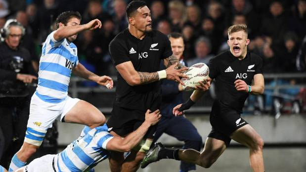 Blindside flanker Vaea Fifita scored a memorable try during the victory over Argentina in New Plymouth last weekend.