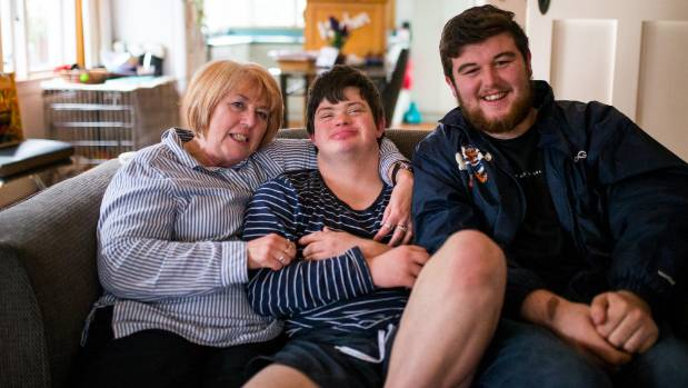 When Susie Roberts put out a call for someone to be a friend to her son Nathan Hartley, 20, 19-year-old Jayden Crossan ...