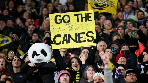 The Hurricanes say their average crowds have lifted by 19.5 per cent over the past two season.