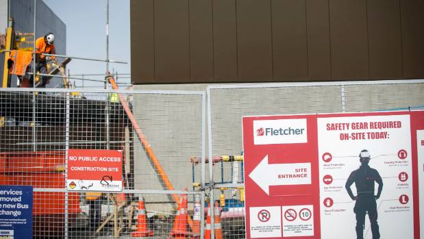 Workers are still on site although the official opening of the Christchurch justice and emergency services precinct was ...