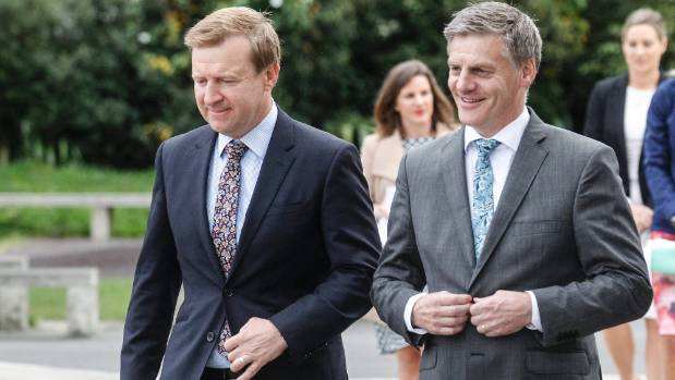 Health Minister Jonathan Coleman, left, and Prime Minister Bill English have announced $18 GP visits for community card ...