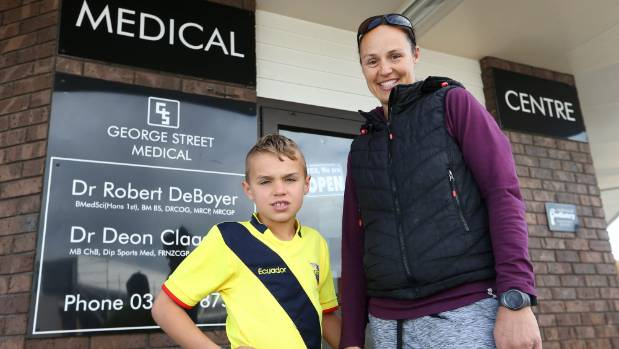 Mother-of-two Danielle Blackmore, with son Thomas Blackmore, 8, likes policies promising cheaper GP visits, but says ...