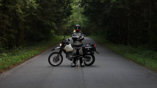 Isaac London will ride a motorcycle from Canada to Argentina to raise awareness for mental health and suicide.