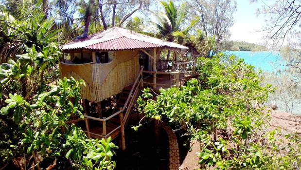 A treehouse accommodation at Tonga's Mandala Island Resort.