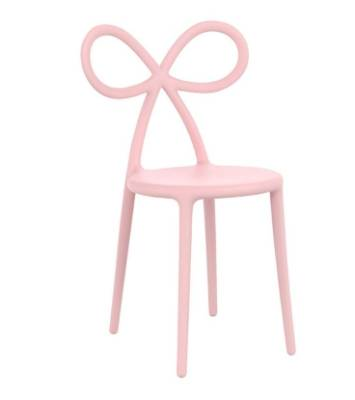 The sweet shape of this modern chair is equaled only by the colour. Qeebo ribbon chair, $268 from Amara.