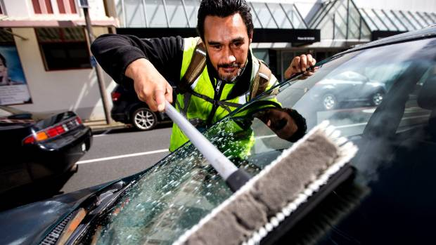 """Phillips wants window washer rules put in place so he can become """"legit"""" and declare his earnings."""