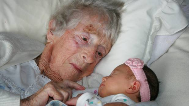 Edith Bramald celebrated her 100th birthday on Wednesday September 6, a few weeks after the birth of ...