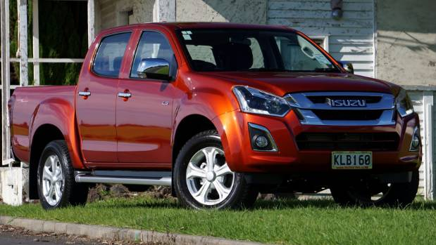 Demand is very strong for diesel-engined utes such as this Isuzu D-Max.