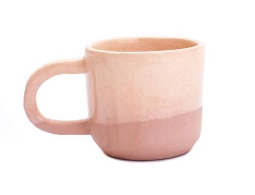 Ditch your white crockery in favour of a JS Ceramics mug in half dipped sand, $32.