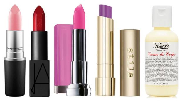 Pink-leaning corals like MAC Costa Chic ($40), NARS Audacious Lipstick in Natalie ($54), Maybelline Colour Sensation ...