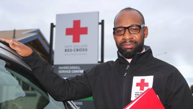 Red Cross humanitarian services co-ordinator for Southland, Peter Saba, says the Invercargill office has received many ...
