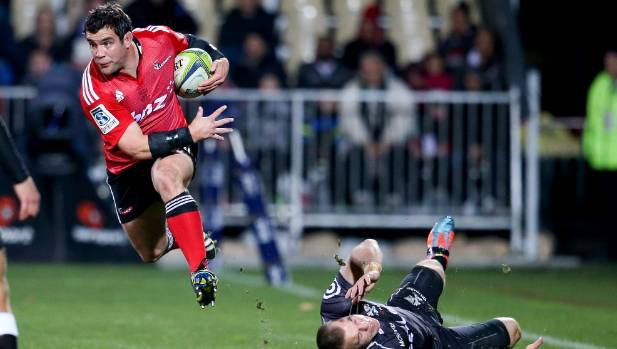 Corey Flynn played 150 games for the Crusaders between 2002-14 before joining French club Toulouse.