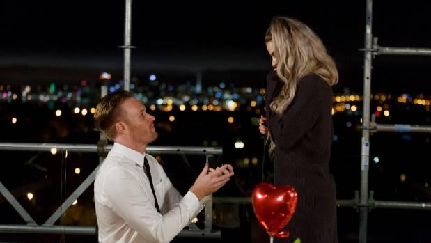 Yanita's boyfriend Jordan proposed on the rooftop terrace during filming of The Block: Side x Side.
