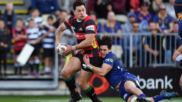 Canterbury midfielder Rob Thompson returns to the starting lineup after a week off.