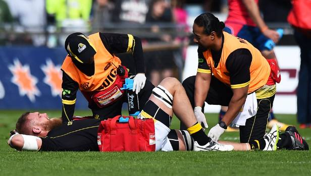 The left knee injury suffered on Sunday by Wellington captain Brad Shields isn't as bad as first feared.
