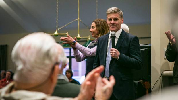 National's Bill English dipped below Labour's Jacinda Ardern as preferred prime minister before coming out just ahead in ...
