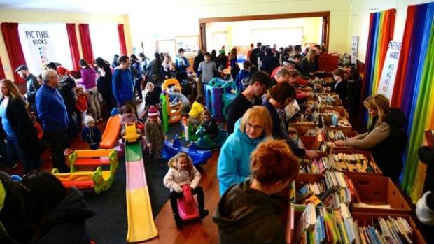 The Children's Monster Book Sale is a major fundraiser for the Toy Library.