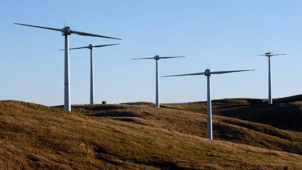 Neighbours of the Te Rere Hau wind farm say the sound generated from turbines whizzing around is sometimes annoying.