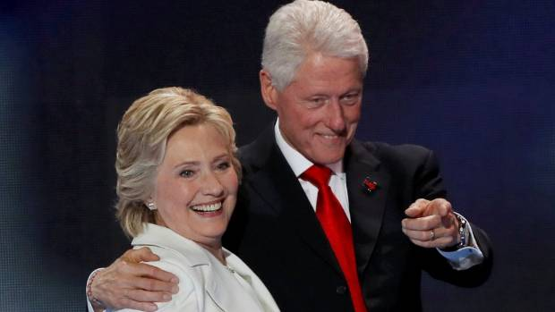 Hillary and Bill Clinton stayed together after his affair with Monica Lewinsky made headlines around the world.