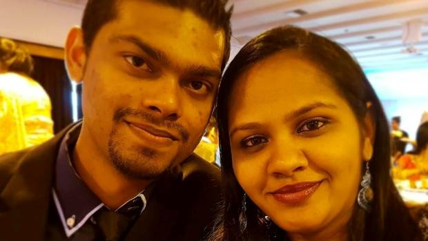 Avneel Ram, 27, and Sheetal Ram, 31, are presumed drowned after a car plunged into a lake in Halswell.