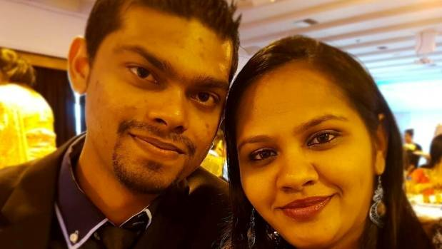 Avneel Ram, 25, and Sheetal Ram, 30, died after their car plunged into a lake in Halswell.