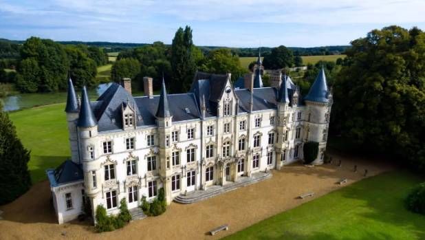Chateau charbonnieres is being offered for sale at an auction on october 11 with no