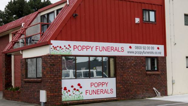 Poppy Funerals in Middleton failed to provide Maree Ford with the death certificate for her husband, Graham, who died in ...