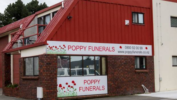 Poppy Funerals in Middleton, Christchurch.