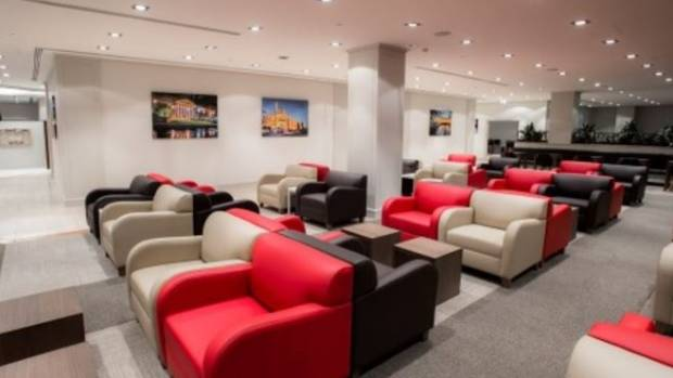 Inside marhaba's new lounge at Melbourne Airport