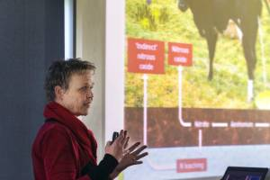 AgResearch science impact leader Cecile de Klein says farmers can use research findings to help reduce their greenhouse ...