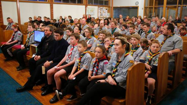 About 100 youths attended the South Canterbury Scouts annual church parade on Tuesday night at the Wilson Street Baptist ...