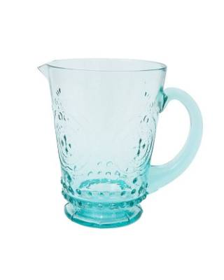 A weighty glass pitcher that cries out for old fashioned lemonade, the Gladys is $39.95 from Freedom.