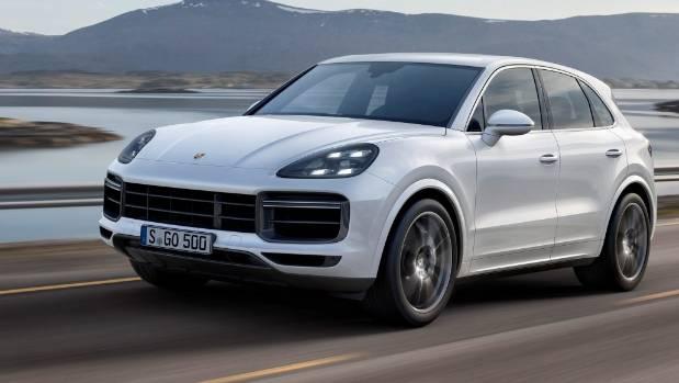 Porsche Unveils 2018 Cayenne Turbo As World S Fastest Suv Stuff Co Nz