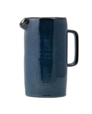In a sturdy style that's reminiscent of good old Crown Lynn, the Blue Crater jug by General Eclectic is fit to fulfill ...