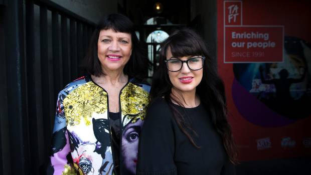 TAFT chief executive Suzanne Porter (left) is proud of her team for taking out a national award recognising Womad NZ as ...