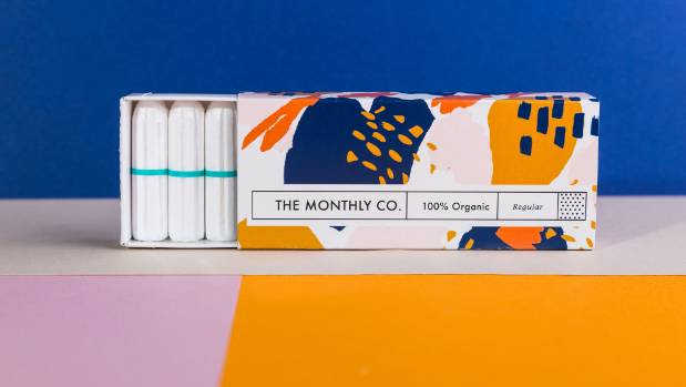 The Monthly Co. delivers 100 percent cotton tampons to women, and the company hopes to expand its range of products.