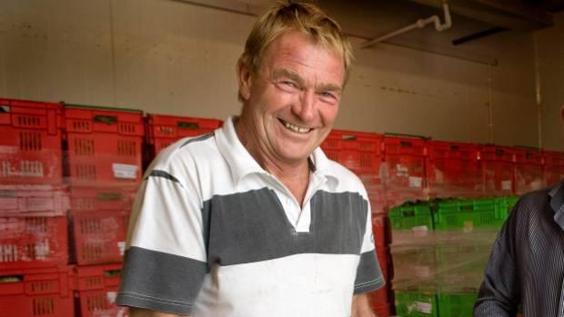 Levin grower John Clarke of Woodhaven Gardens.