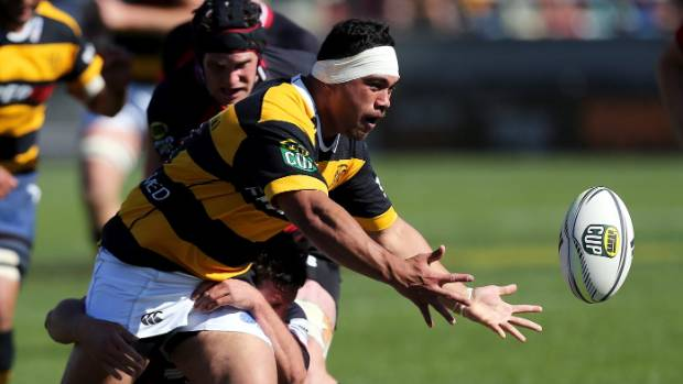 Sione Lea had a strong game for the Taranaki Devlopment side.