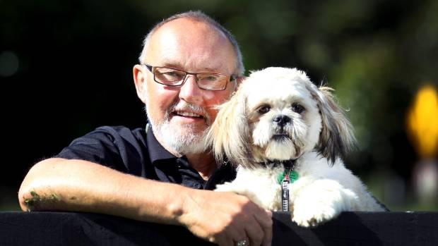 Hearing Dogs New Zealand trainer Terry Darby, with Shih Tzu Edison, says there's no bad dogs just bad owners. (file photo).