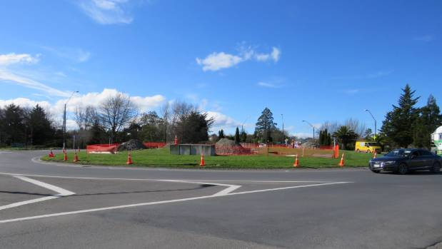 The sculpture will be situated above the roundabout at the northern entrance of Masterton.